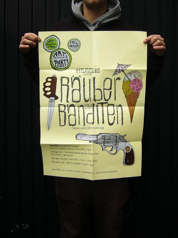 44flavours — Räuber & Banditen