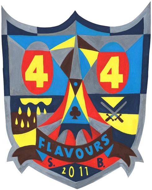 44flavours — Backpiece