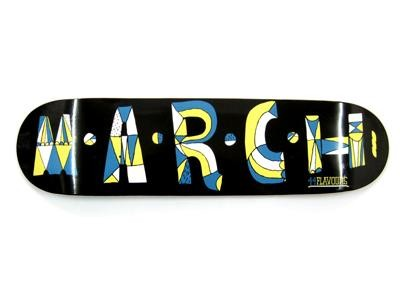 44flavours — MARCH Skateboards