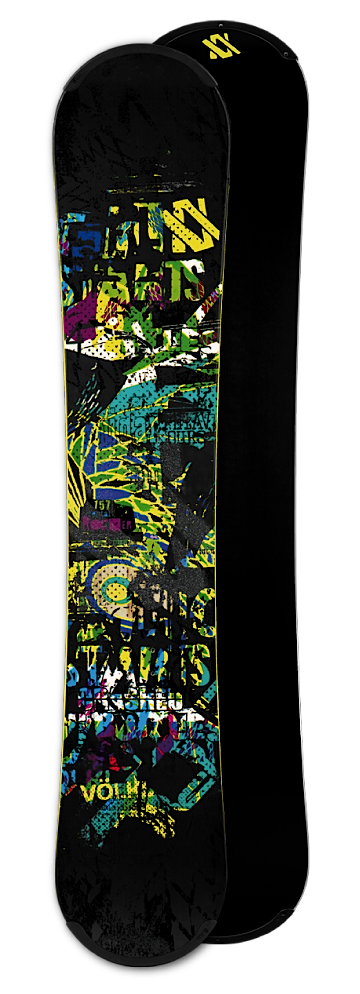 44flavours — Völkl Snowboards — Rental