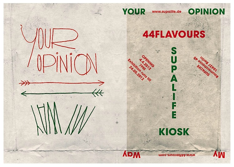44flavours — Your Opinion — My Way