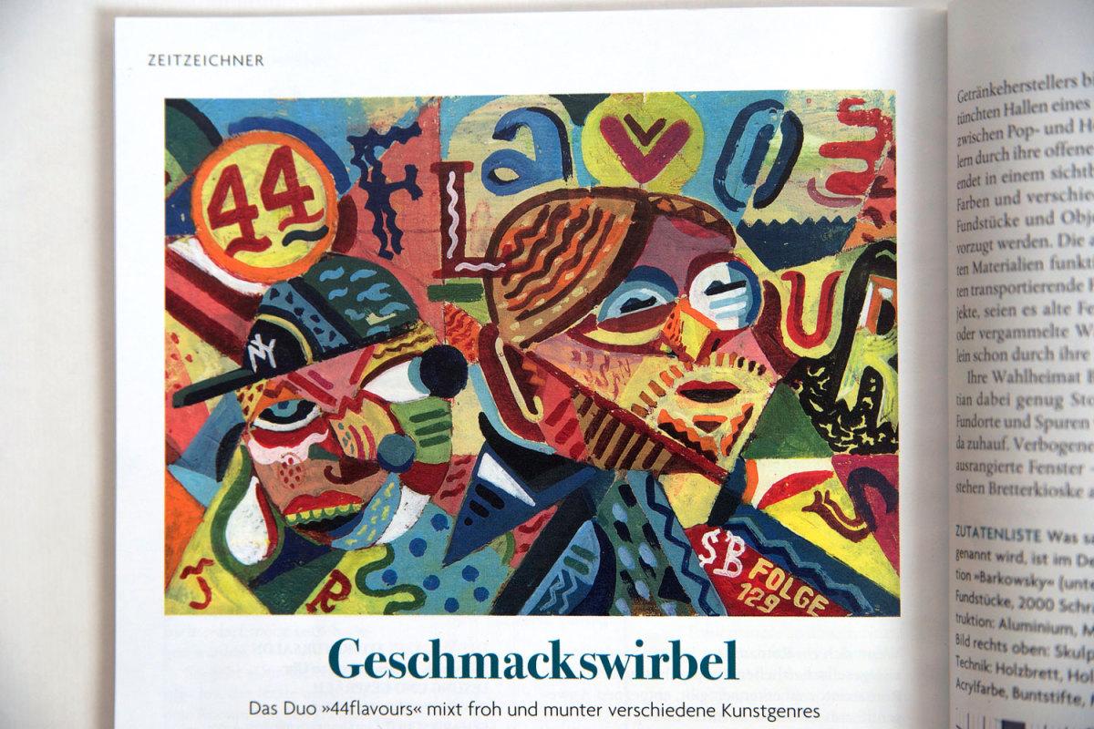 44flavours — Zeitzeichner – Das Magazin