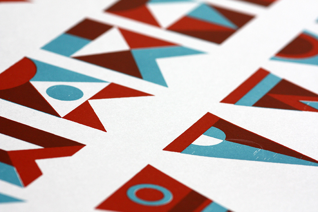 44flavours — Screenprint Posters