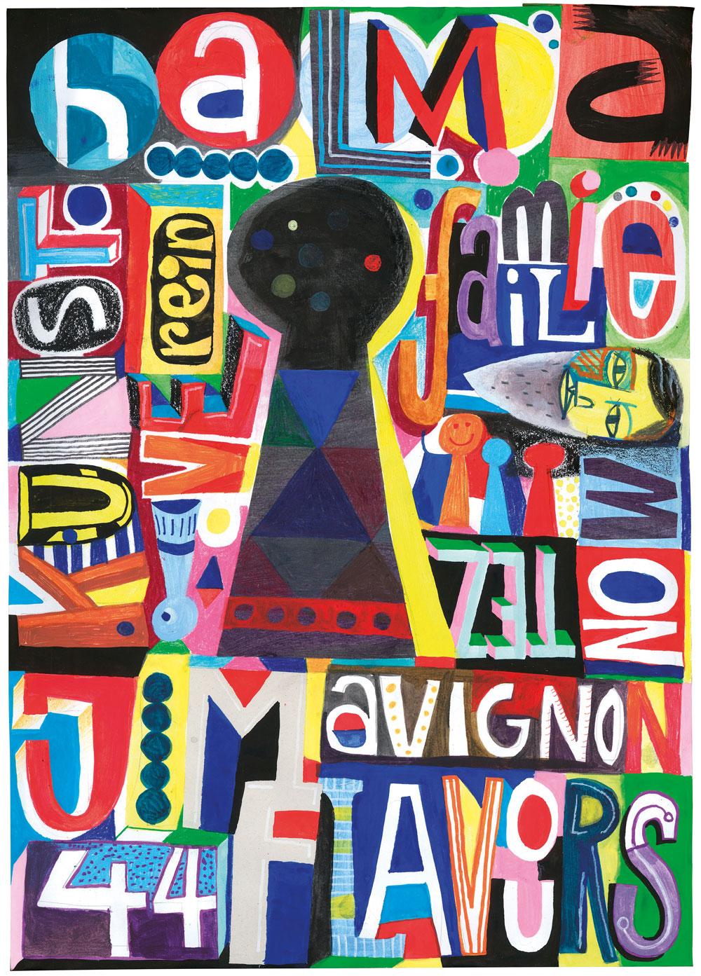 44flavours Halma 44flavours Jim Avignon