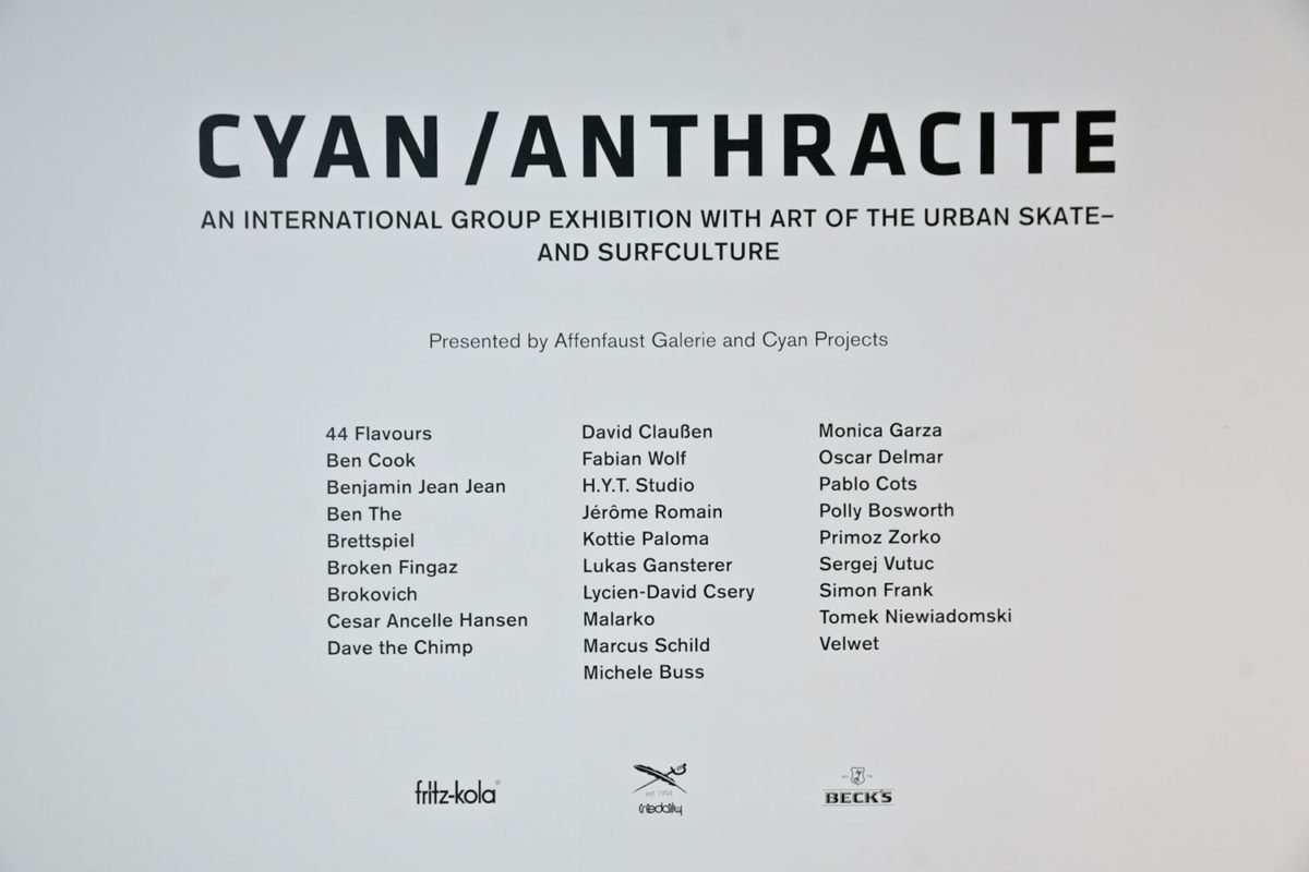44flavours — CYAN / ANTHRACITE