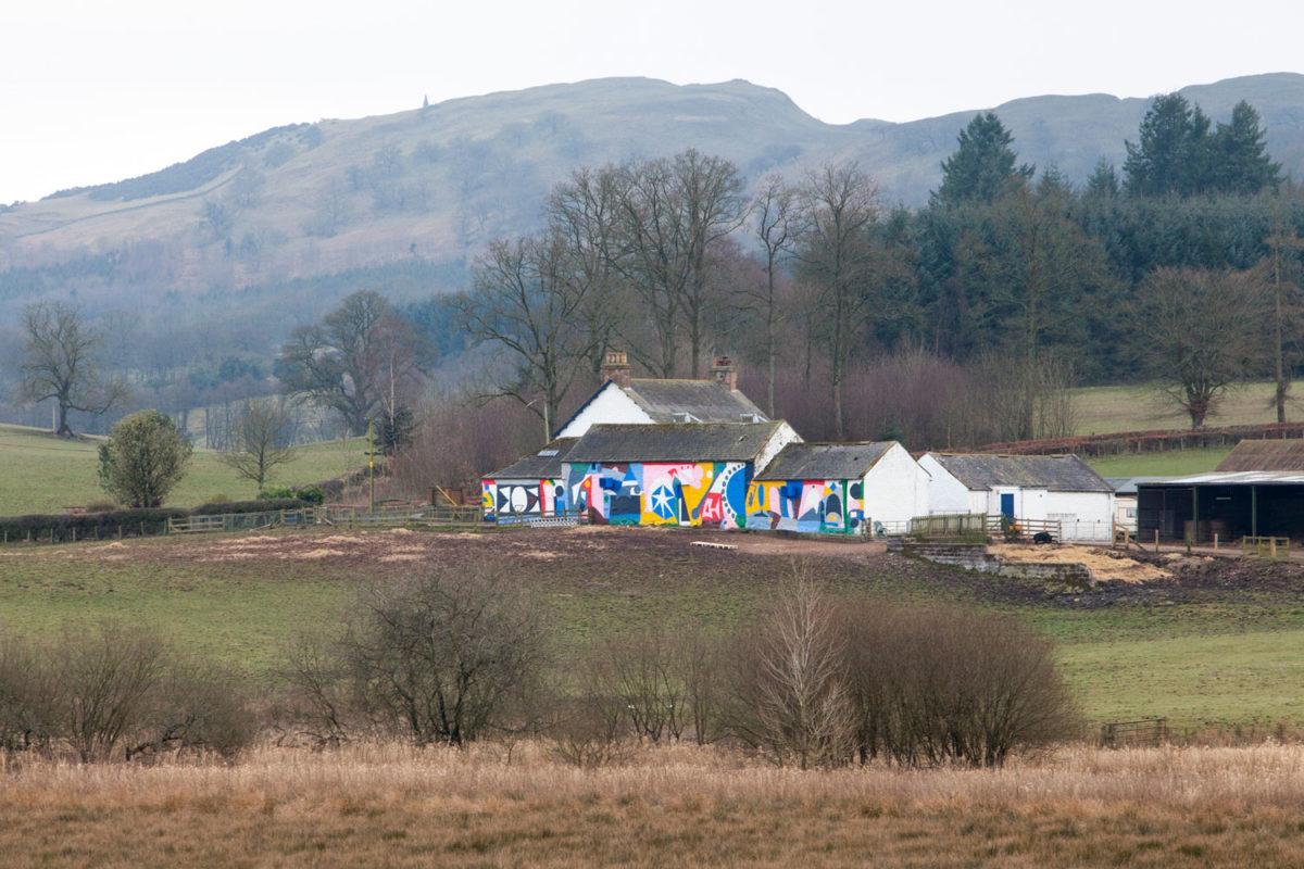 44flavours — Spring Fling Rural Mural 2016 — Scotland