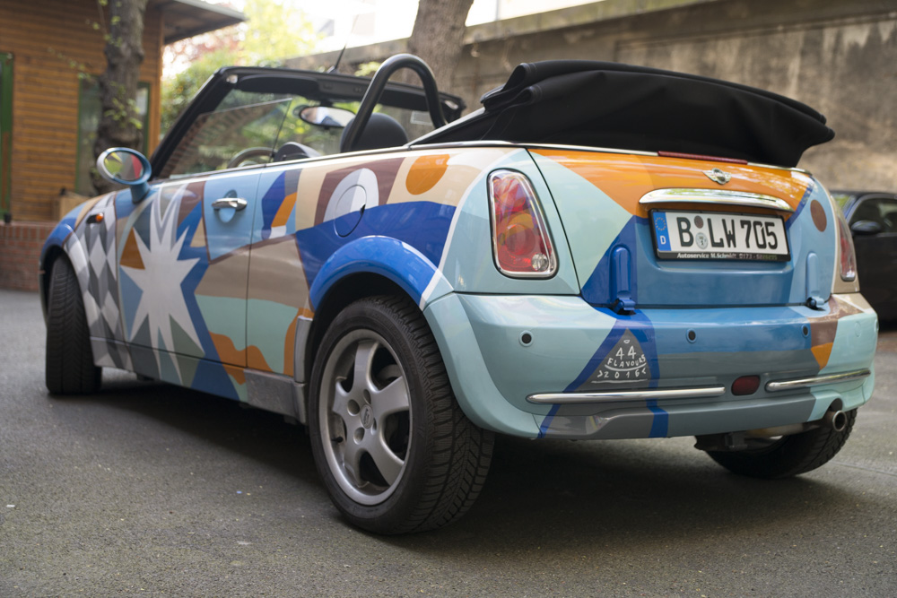 44flavours — Costumized Painted Mini Car